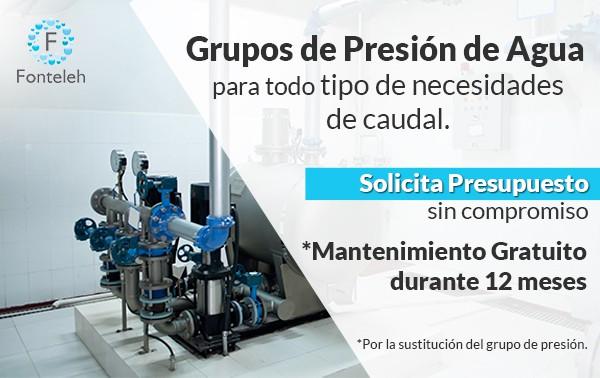 Grupos de presión de agua en madrid para todo tipo de necesidades de caudal